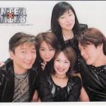 Previous HxH Anime Seiyuu Cast: (From right to left) Takahashi Hiroki, Kaida Yuki, Mitsuhashi Kanako, Takeuchi Junko, Gouda Hozumi